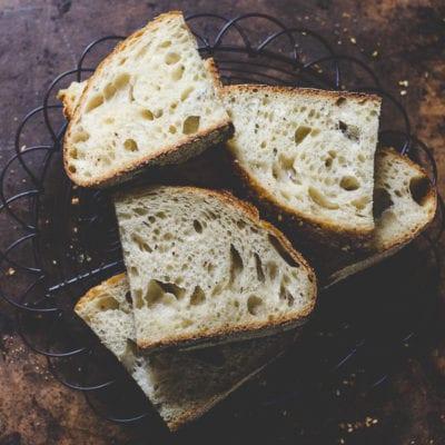Dukkah Sourdough Bread
