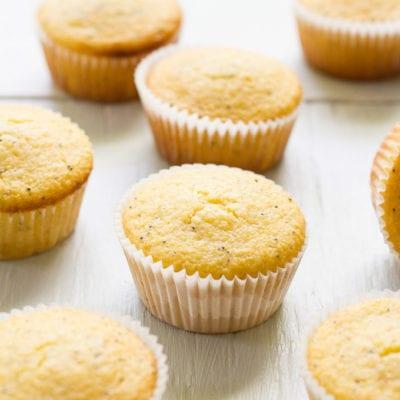 what not to do at starbucks + lemon poppy seed cornmeal muffins