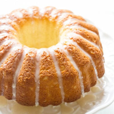 french cruller bundt cake   theclevercarrot.com