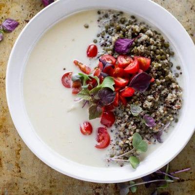 coconut quinoa power bowls