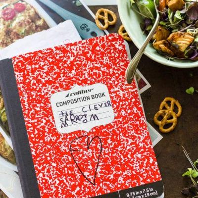I'm writing a cookbook!
