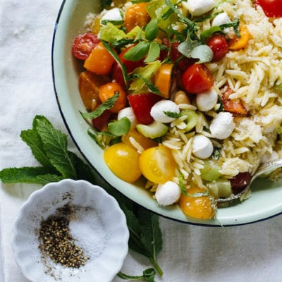 orzo picnic salad