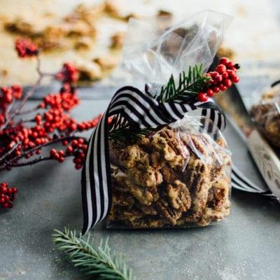make-ahead gifts: brûléed pecans