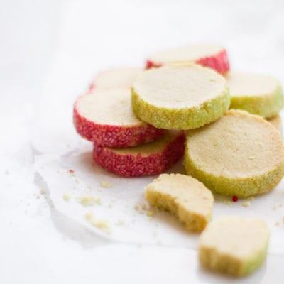 slice and bake pastel shortbread