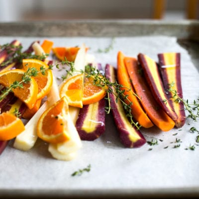 cook once eat twice: roasted carrots