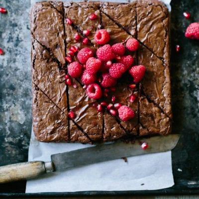 alanna's scrumptious chestnut brownies