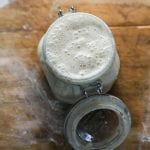 Beginner Sourdough Starter Recipe | theclevercarrot.com